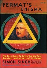 Cover art for FERMAT'S ENIGMA