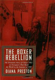 THE BOXER REBELLION by Diana Preston