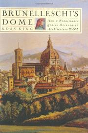 Book Cover for BRUNELLESCHI'S DOME