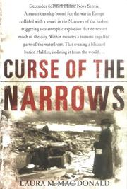 Cover art for CURSE OF THE NARROWS