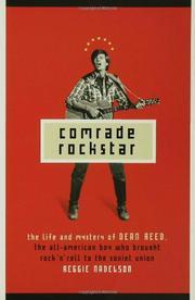 COMRADE ROCKSTAR by Reggie Nadelson