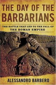 THE DAY OF THE BARBARIANS by Alessandro Barbero