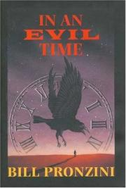 IN AN EVIL TIME by Bill Pronzini