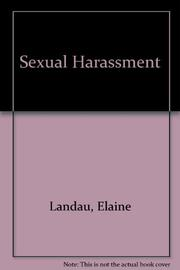 SEXUAL HARASSMENT by Elaine Landau