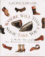 Cover art for WHERE WILL THIS SHOE TAKE YOU?