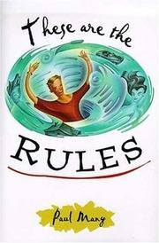 THESE ARE THE RULES by Paul Many