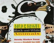 Book Cover for BOLD AND BRIGHT BLACK-AND-WHITE ANIMALS