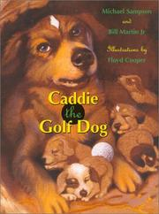 Book Cover for CADDIE THE GOLF DOG