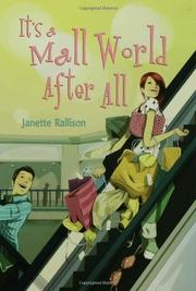 Cover art for IT'S A MALL WORLD AFTER ALL