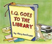 Cover art for I.Q. GOES TO THE LIBRARY