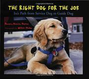 Book Cover for THE RIGHT DOG FOR THE JOB