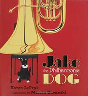 Book Cover for JAKE THE PHILHARMONIC DOG