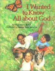 Cover art for I WANTED TO KNOW ALL ABOUT GOD