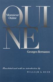 MONSIEUR OUINE by Georges Bernanos
