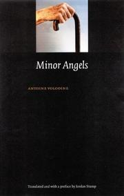 MINOR ANGELS by Antoine Volodine