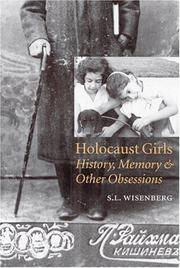 HOLOCAUST GIRLS by S.L. Wisenberg