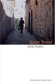 QUIET STREET by Zolda Popkin