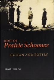 BEST OF PRAIRIE SCHOONER by Hilda Raz