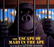 Cover art for THE ESCAPE OF MARVIN THE APE