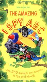 Book Cover for THE AMAZING I SPY ABC