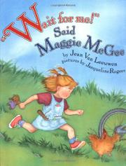 "Cover art for ""WAIT FOR ME!"" SAID MAGGIE MCGEE"