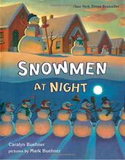 Cover art for SNOWMEN AT NIGHT