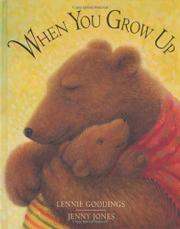 Cover art for WHEN YOU GROW UP