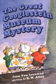 Cover art for THE GREAT GOOGLESTEIN MUSEUM MYSTERY