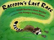 Cover art for RACCOON'S LAST RACE