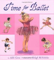 Book Cover for TIME FOR BALLET