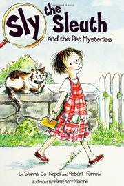 SLY THE SLEUTH by Donna Jo Napoli