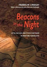 BEACONS IN THE NIGHT by Franklin Lindsay