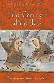 THE COMING OF THE BEAR by Lensey Namioka