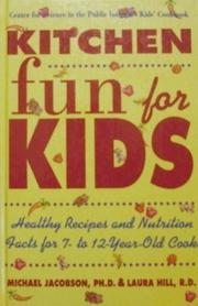 KITCHEN FUN FOR KIDS by Michael Jacobson