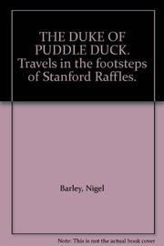 THE DUKE OF PUDDLE DOCK by Nigel Barley
