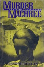 MURDER MACHREE by Eleanor Boylan