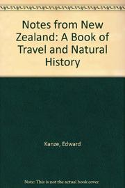 NOTES FROM NEW ZEALAND by Edward Kanze