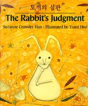 THE RABBIT'S JUDGMENT by Suzanne Crowder Han