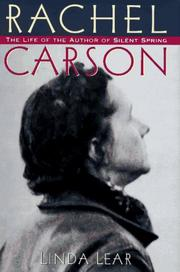 Cover art for RACHEL CARSON