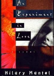 Cover art for AN EXPERIMENT IN LOVE