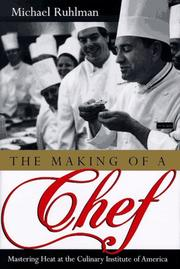 Book Cover for THE MAKING OF A CHEF