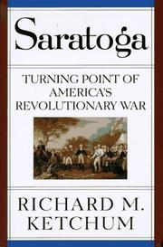 SARATOGA by Richard M. Ketchum