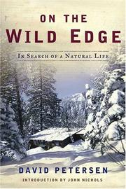 ON THE WILD EDGE by David Petersen