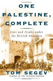 Cover art for ONE PALESTINE, COMPLETE
