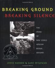 Book Cover for BREAKING GROUND, BREAKING SILENCE