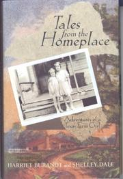 TALES FROM THE HOMEPLACE by Harriet Burandt