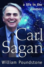 CARL SAGAN by William Poundstone
