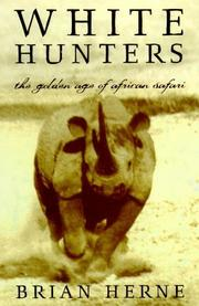 Cover art for WHITE HUNTERS