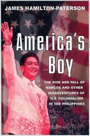 Cover art for AMERICA'S BOY