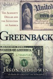 Cover art for GREENBACK
